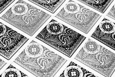 Black Grey Cards Stock Photography