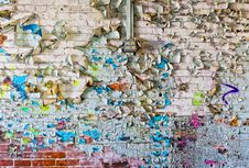 Free Grungy Peeling Paint Stock Photo - 8708130