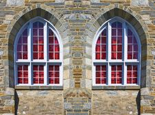 Free Church Windows Royalty Free Stock Photo - 8708155
