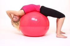 Free Yoga Girl Royalty Free Stock Images - 8708929