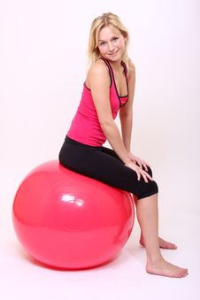 Free Yoga Girl Stock Image - 8708951