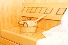 Free Sauna Bucket 2 Stock Images - 8709024