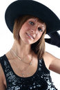 Free Lovely Yong Woman In Hat Royalty Free Stock Photo - 8711725