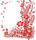 Free Delicate Red Flowers Royalty Free Stock Photo - 8715415