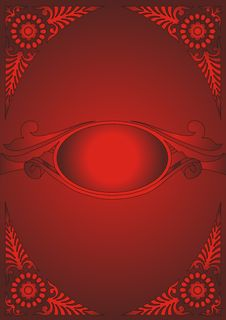 Free Elegant Red Background Stock Images - 8711464