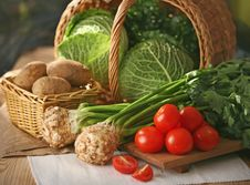 Free Fresh Vegetables Royalty Free Stock Images - 8712709