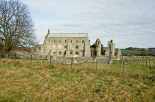 Ruined Abbey Royalty Free Stock Photo
