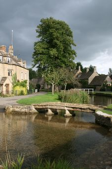 Free Cotswold Village Stock Image - 8713951