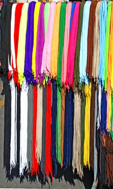 Colorful Laces Royalty Free Stock Image
