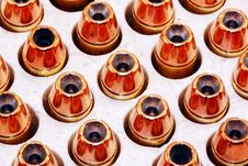 Hollow Point Bullets Royalty Free Stock Photos