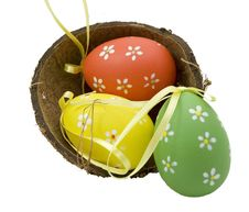 Free Easter Eggs Stock Photography - 8714802