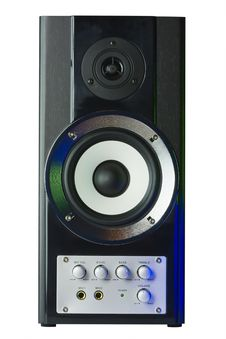 Sound Speaker In Disco Style Stock Photo