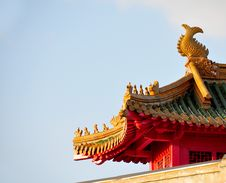 Free Chinese Roof Royalty Free Stock Images - 8715639