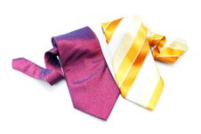 Free Two Neckties Stock Photography - 8716102
