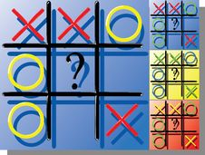 Free Tic-tac-toe Royalty Free Stock Photos - 8716758