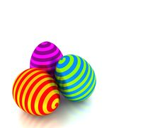 Free Whirly Easter Eggs Stock Images - 8717334