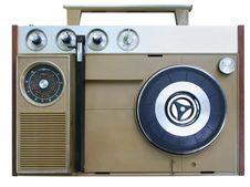 Free Portable Radio Gramophone Stock Image - 8717401