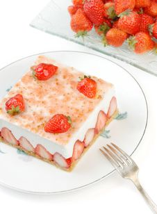 Free Strawberry Mousse Royalty Free Stock Image - 8717496