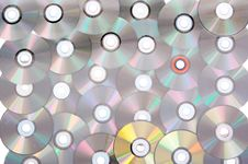 Free Compact Disc Royalty Free Stock Images - 8718329