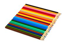 Free Color Pencils Royalty Free Stock Image - 8719936