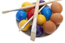 Free Easter, Painted Easter Eggs Stock Photo - 8721180