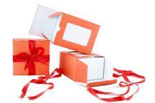 Free Orange Box Royalty Free Stock Photo - 8721255
