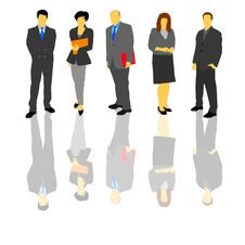 Business People 1 Royalty Free Stock Images