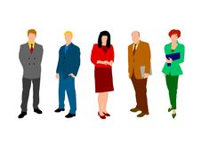 Business People 2 Stock Photo