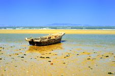 Free Wooden Boat Stock Image - 8722371