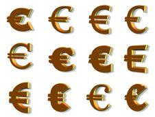 Free 3d Euro Stock Photo - 8723360