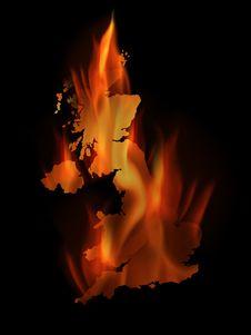 Free Burning England Stock Image - 8725311