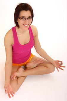 Free Yoga Woman Stock Photo - 8726030