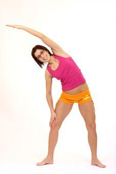 Free Yoga Woman Stock Photo - 8726160