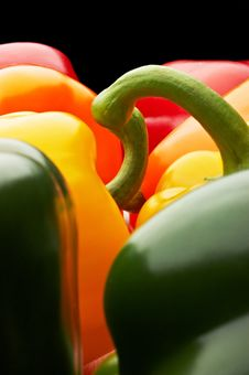 Close-up Of Peppers Stock Photo