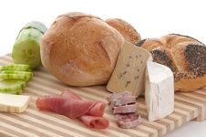 Free Some Bread And Cheese Stock Images - 8727084