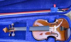Free Violin In Its Case Royalty Free Stock Photo - 8727845