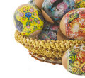 Free The Easter Decorated Eggs Royalty Free Stock Photos - 8732978