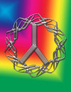 Free Rainbow Peace Image Stock Images - 8739704