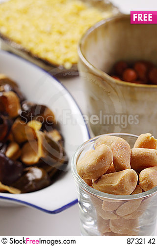 Free Bean And Nut Stock Photography - 8732142