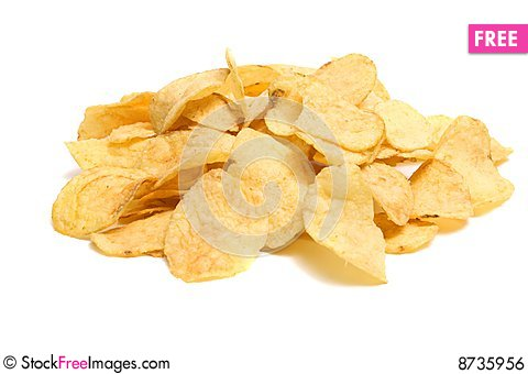 Free Chips Potato Royalty Free Stock Image - 8735956