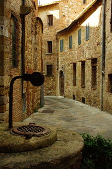 Free Montepulciano Village In Tuscany, Italy Stock Photo - 8730040