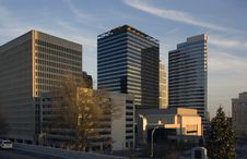 Free Downtown Nashville Royalty Free Stock Image - 8730236