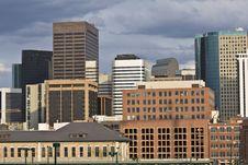 Free Skyscrapers In Denver Stock Image - 8731261