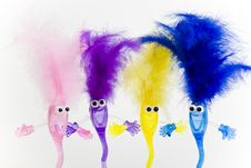 Free Color Puppets Stock Image - 8731541