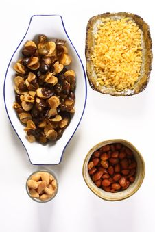 Free Bean And Nut Stock Image - 8732101