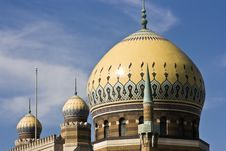 Mosque In Milwaukee, Wisconsin Royalty Free Stock Photo
