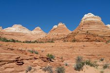 Free Redrock Domes Royalty Free Stock Images - 8732279