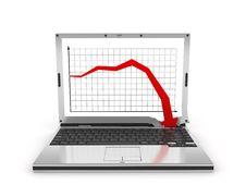 Free Laptop  Diagram, Bad Stock Image - 8732401