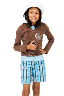 Girl Listening To Mp3 Player Stock Photography