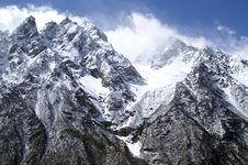 Free High Mountains Royalty Free Stock Photography - 8732877